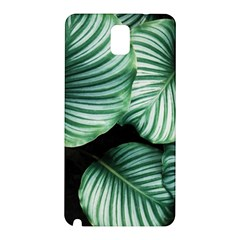 Tropical Florals Samsung Galaxy Note 3 N9005 Hardshell Back Case by goljakoff