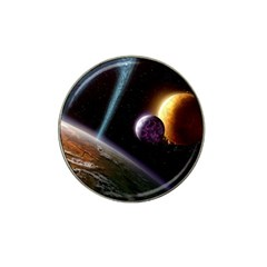 Planets In Space Hat Clip Ball Marker