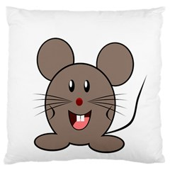 Raton Mouse Christmas Xmas Stuffed Animal Large Flano Cushion Case (one Side)