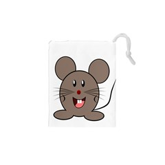 Raton Mouse Christmas Xmas Stuffed Animal Drawstring Pouches (xs)  by Sapixe