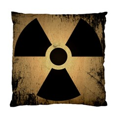 Radioactive Warning Signs Hazard Standard Cushion Case (two Sides)