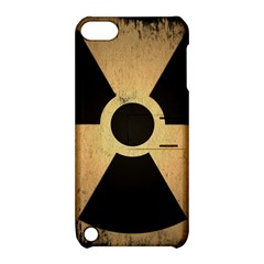 Radioactive Warning Signs Hazard Apple Ipod Touch 5 Hardshell Case With Stand by Sapixe