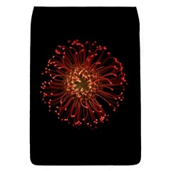Red Flower Blooming In The Dark Flap Covers (s)  by Sapixe