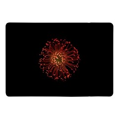 Red Flower Blooming In The Dark Apple Ipad Pro 10 5   Flip Case