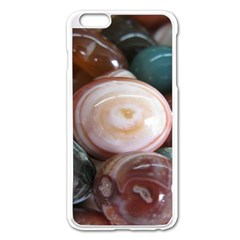Rain Flower Stones Is A Special Type Of Stone Found In Nanjing, China Unique Yuhua Pebbles Consistin Apple Iphone 6 Plus/6s Plus Enamel White Case