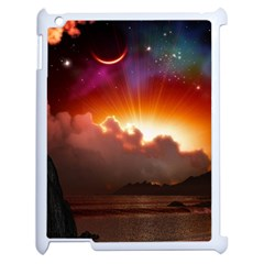 Red Fantasy Apple Ipad 2 Case (white)