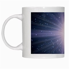 Real Photographs In Saturns Rings White Mugs