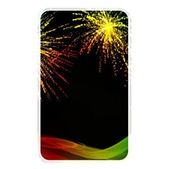 Rainbow Fireworks Celebration Colorful Abstract Memory Card Reader