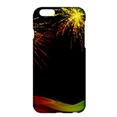 Rainbow Fireworks Celebration Colorful Abstract Apple Iphone 6 Plus/6s Plus Hardshell Case