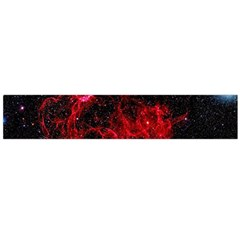Red Nebulae Stella Large Flano Scarf  by Sapixe