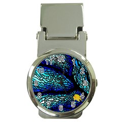 Sea Fans Diving Coral Stained Glass Money Clip Watches by Sapixe