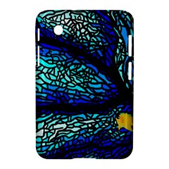 Sea Fans Diving Coral Stained Glass Samsung Galaxy Tab 2 (7 ) P3100 Hardshell Case  by Sapixe