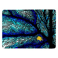 Sea Fans Diving Coral Stained Glass Samsung Galaxy Tab Pro 12 2  Flip Case by Sapixe