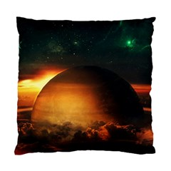 Saturn Rings Fantasy Art Digital Standard Cushion Case (one Side) by Sapixe