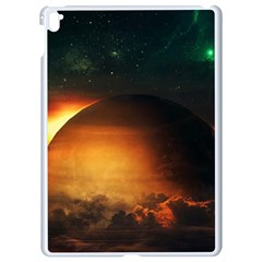 Saturn Rings Fantasy Art Digital Apple Ipad Pro 9 7   White Seamless Case by Sapixe