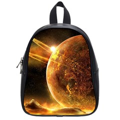 Sci Fi Planet School Bag (small)