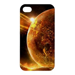 Sci Fi Planet Apple Iphone 4/4s Hardshell Case