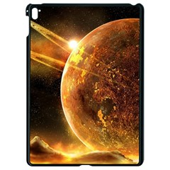Sci Fi Planet Apple Ipad Pro 9 7   Black Seamless Case