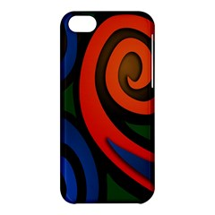 Simple Batik Patterns Apple Iphone 5c Hardshell Case by Sapixe
