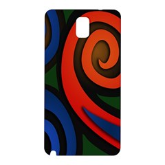 Simple Batik Patterns Samsung Galaxy Note 3 N9005 Hardshell Back Case by Sapixe