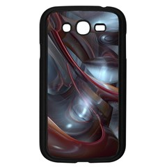 Shells Around Tubes Abstract Samsung Galaxy Grand Duos I9082 Case (black)