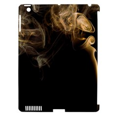 Smoke Fume Smolder Cigarette Air Apple Ipad 3/4 Hardshell Case (compatible With Smart Cover) by Sapixe