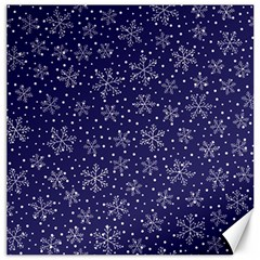 Snowflakes Pattern Canvas 16  X 16   by Sapixe