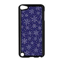Snowflakes Pattern Apple Ipod Touch 5 Case (black) by Sapixe