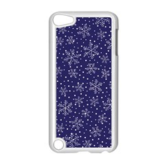 Snowflakes Pattern Apple Ipod Touch 5 Case (white) by Sapixe