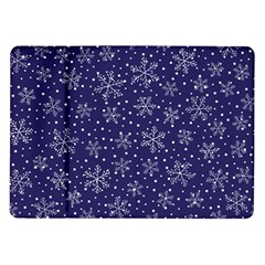 Snowflakes Pattern Samsung Galaxy Tab 10 1  P7500 Flip Case by Sapixe