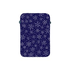 Snowflakes Pattern Apple Ipad Mini Protective Soft Cases by Sapixe