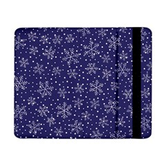 Snowflakes Pattern Samsung Galaxy Tab Pro 8 4  Flip Case by Sapixe