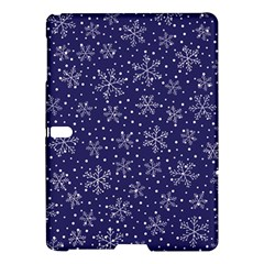 Snowflakes Pattern Samsung Galaxy Tab S (10 5 ) Hardshell Case  by Sapixe
