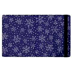 Snowflakes Pattern Apple Ipad Pro 9 7   Flip Case by Sapixe