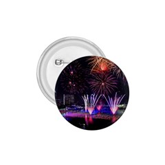 Singapore The Happy New Year Hotel Celebration Laser Light Fireworks Marina Bay 1 75  Buttons
