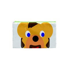 Solidarity Clipart Bear Head Teddy Bear Xmas Christmas Stuffed Animal Cosmetic Bag (xs) by Sapixe