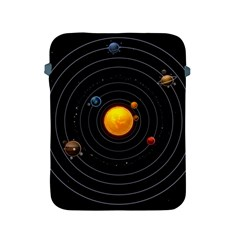 Solar System Apple Ipad 2/3/4 Protective Soft Cases by Sapixe
