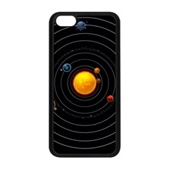 Solar System Apple Iphone 5c Seamless Case (black) by Sapixe