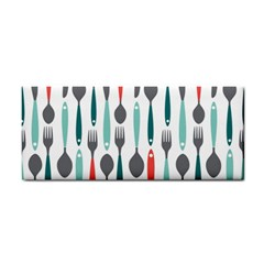 Spoon Fork Knife Pattern Cosmetic Storage Cases by Sapixe