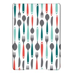 Spoon Fork Knife Pattern Ipad Air Hardshell Cases by Sapixe