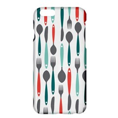 Spoon Fork Knife Pattern Apple Iphone 6 Plus/6s Plus Hardshell Case by Sapixe