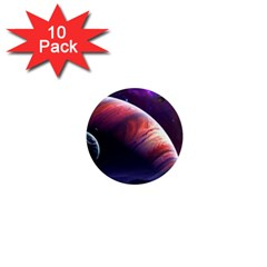 Space Art Nebula 1  Mini Magnet (10 Pack)  by Sapixe