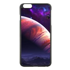 Space Art Nebula Apple Iphone 6 Plus/6s Plus Black Enamel Case by Sapixe