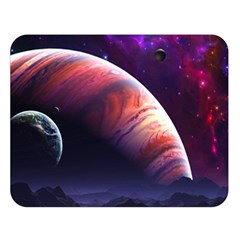 Space Art Nebula Double Sided Flano Blanket (large)  by Sapixe
