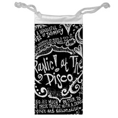 Panic! At The Disco Lyric Quotes Jewelry Bag by Samandel
