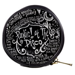 Panic! At The Disco Lyric Quotes Mini Makeup Bags by Samandel