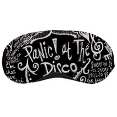 Panic! At The Disco Lyric Quotes Sleeping Masks by Samandel