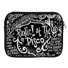 Panic! At The Disco Lyric Quotes Apple Ipad 2/3/4 Zipper Cases by Samandel