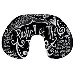 Panic! At The Disco Lyric Quotes Travel Neck Pillows