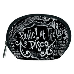 Panic! At The Disco Lyric Quotes Accessory Pouches (medium)  by Samandel